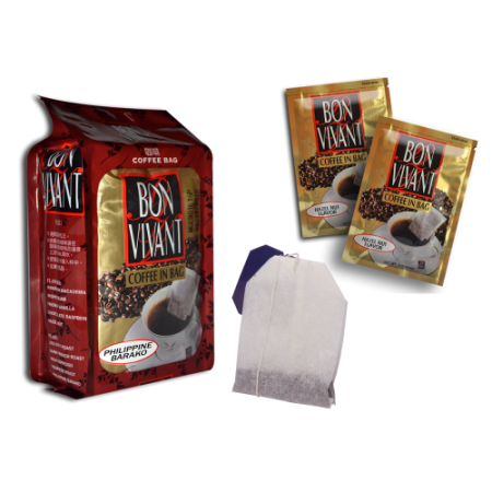Plain and Flavored Coffee Bags