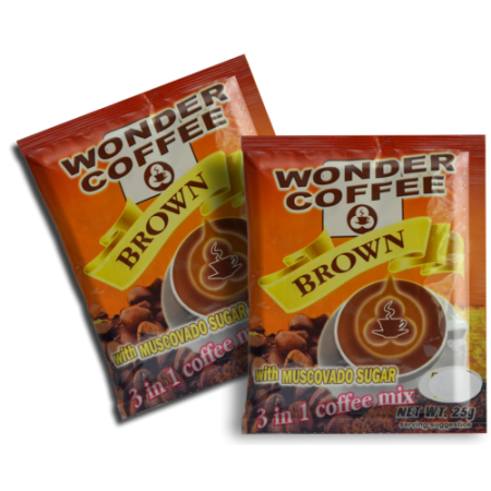 Wonder Coffee 3 in 1 with Muscovado Sugar